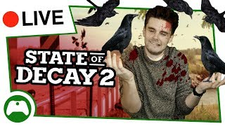 State Of Decay 2 LIVE - What You'll Do In The First 2 Hours