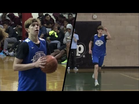"Paul Mulcahy is a 6'5"" pg w/ the JUICE!! Full Highlights @ Hoop Group HS Showcase! Different!!!"