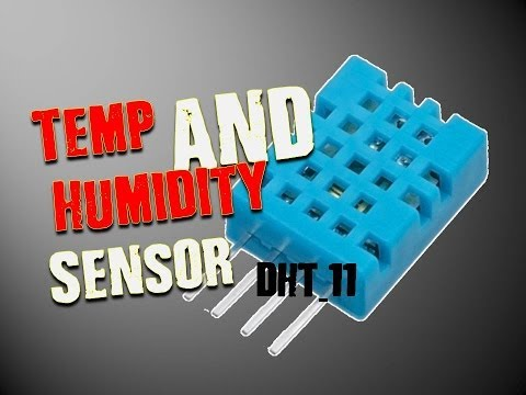 Temperature & Humidity Sensor DHT11 -Tutorial