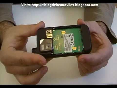Review unboxing Nokia n97 mini (Español)