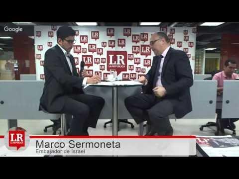 Marco Sermoneta / Embajador De Israel En Colombia