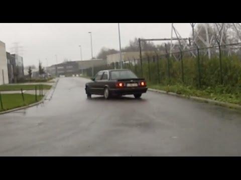 BMW E30 325i Rainy Sunday Drift