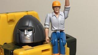 Badcube OTS-09 Masterpiece Grump Ausrüstungen Figur Action- & Spielfiguren