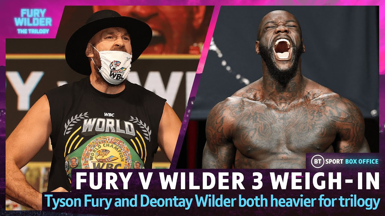 Download Tyson Fury v Deontay Wilder 3: Weigh-In Live | The Gypsy King And The Bronze Bomber Hit The Scales