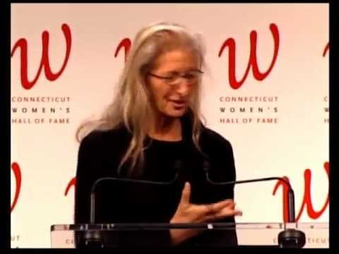 Annie Leibovitz Inducted into Connecticut Women's Hall of Fame