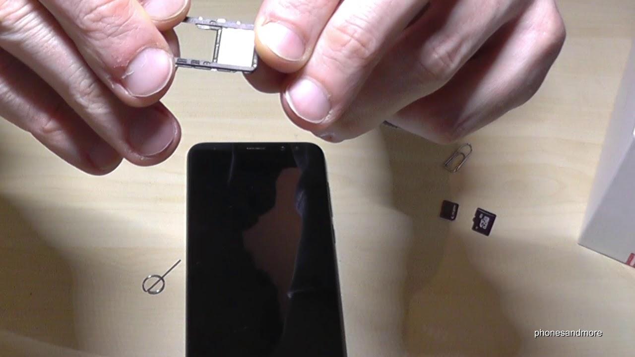 Huawei P10 Sim Karte Einsetzen.Huawei Mate 10 Lite How To Insert The Sim Card Installation Of The Nano Sim Tutorial