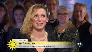 Stockholm City Voices tävlar i körsångs-VM - Nyhetsmorgon (TV4)