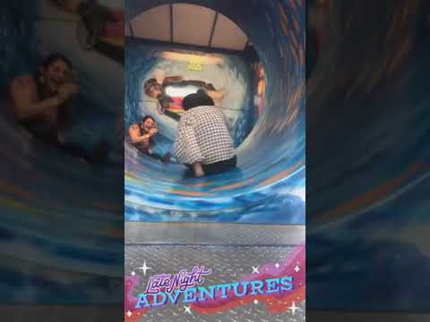 Mel Taylor -  Mom Gets Stuck in a Circling Ride Fail ... OOPS