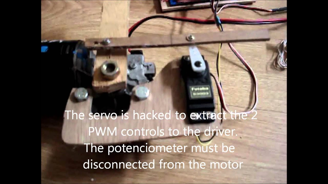 High power servo youtube for High power servo motor