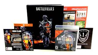 Battlefield 3 Limited Edition Unboxing