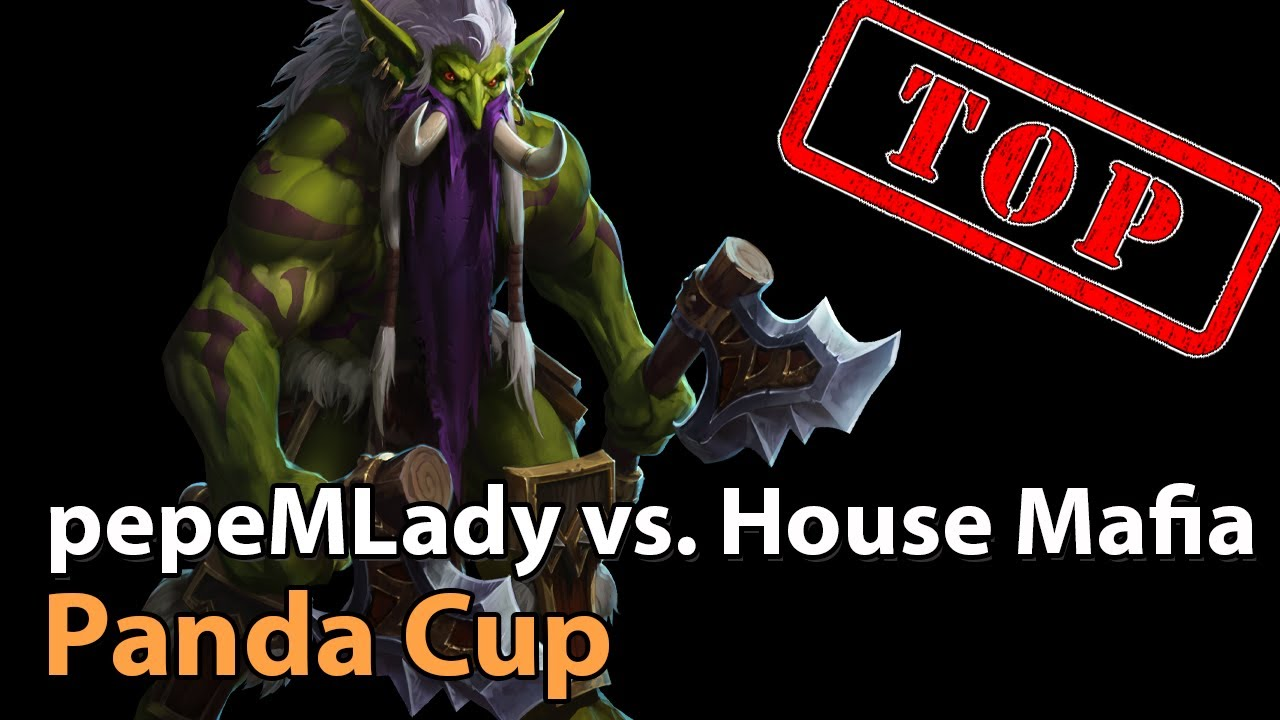 ► pepeMLady vs. House Mafia - Panda Cup Finals - Heroes of the Storm Esports