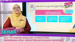 Teras (2021)   Get To Know English Literature (Menengah Atas – Kesusteraan Bahasa Inggeris)