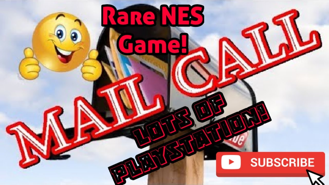 Mail Call Unboxing Rare Nes Game And Lots Of Playstation 1 Gba Episode 90 Youtube
