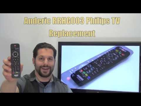 PHILIPS URMT39JHG003 TV Replacement Remote - Www.ReplacementRemotes.com