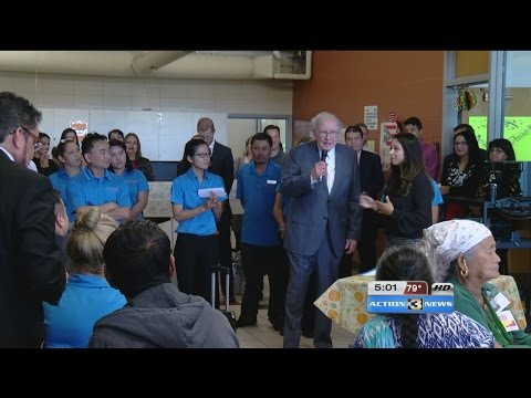 Warren Buffett pushing voter registration