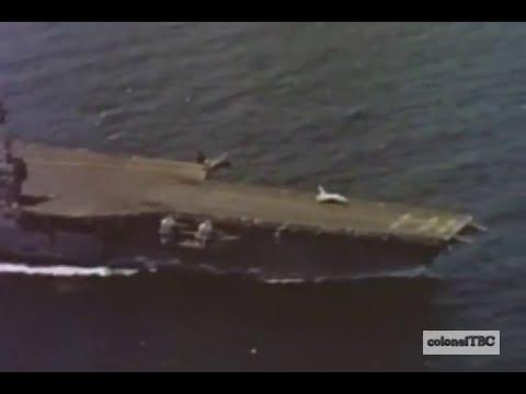 Flight operations on USS Forrestal (CV-59) - 1962