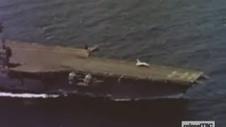 Flight operations on USS Forrestal (CV-59) - 1962