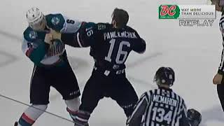 Grayson Pawlenchuk vs Kaedan Korczak Feb 14, 2018