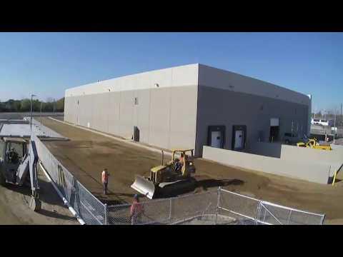 VJ Scozzari & Sons Time Lapse Video of Tilt-Up Warehouse Construction