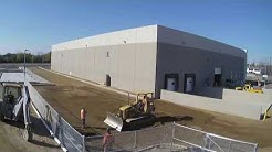 VJ Scozzari & Sons Time Lapse Video of Tilt-Up Warehouse Construction