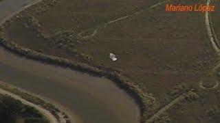 El ovni filmado con más detalle desde un drone - 4K - The UFO better filmed from a drone