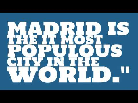 When was Madrid elected?