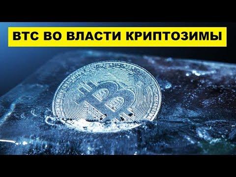 Курс Биткоина сегодня под властью криптозимы