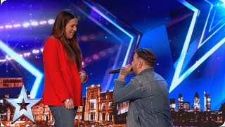 LOVED UP Jacob Jones aims for FIVE yeses | Auditions | BGT 2019