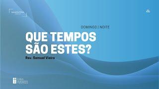 Culto Noturno   17.05.2020   Isaías 21.11-12