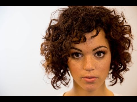 A-Line Bob Haircut On Curly Hair – On The Road Education