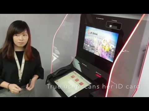 Multimodal biometric ATM demo with face and iris recognition