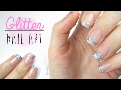 use-glitter-on-your-nails-perfectly!
