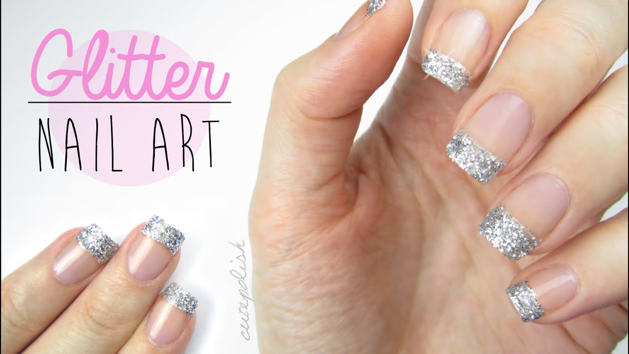 Use Glitter On Your Nails Perfectly