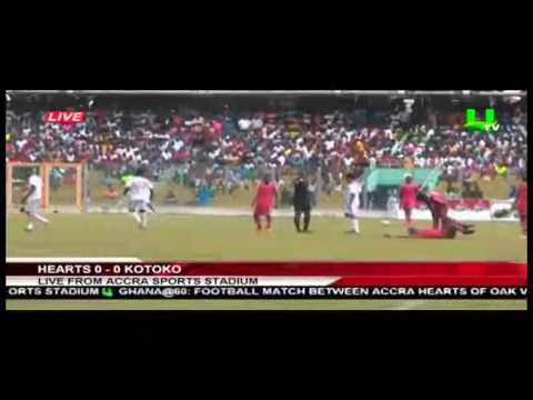Watch all the goals as Hearts of Oak beat Asante Kotoko 3-1 in anniversary match