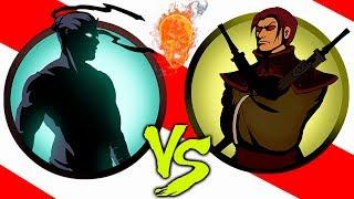 ЩЕГОЛЬ НАС НЕДООЦЕНИЛ - Shadow Fight 2 РЫСЬ ПОКАЗАЛА НАМ ПОДЗЕМЕЛЬЕ