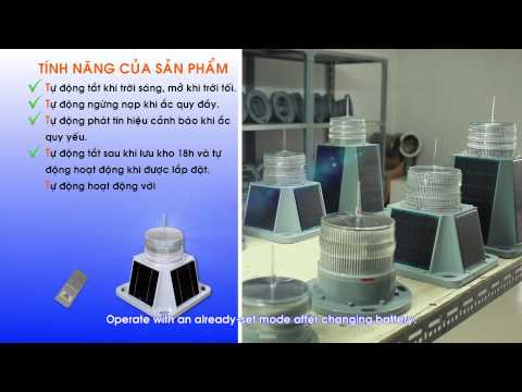Den bao hieu VIJALight (Marine Navigation Solar Lights)