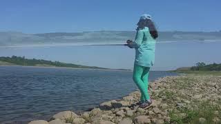 Fishing the South Saskatchewan River