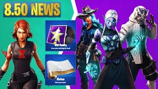 Fortnite 8.50 Leaked Skins: Avengers, Get Funky Music, Guardians of the Galaxy, Lavish Emote, & More