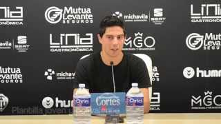 Rueda de prensa de Borja Gracia (26/11/2015)