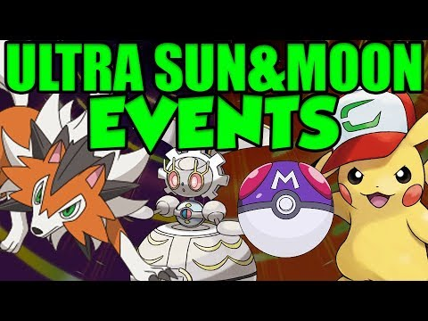 How To Get EXTRA MASTER BALL, ASH PIKACHU, MAGEARNA, & DUSK LYCANROC In Pokemon Ultra Sun And Moon