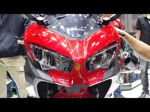 Motor Expo 2017 [EP7] Kawasaki Ninja 400 หล่อ! แรง! โฉมใหม่ พาชมหลายๆ สี