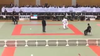 【Men's -66kg】阿部一二三(神港学園神港高) VS 上江一平(足立学園高)