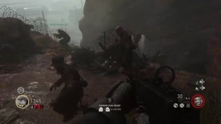WW2 Zombies gameplay part 3