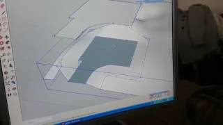 SketchUp Ландшафт 1: площадка для дома