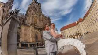 Свадьба в замке Орлик и Праге - Елена и Леонид