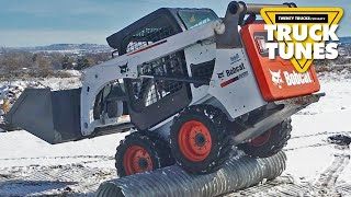Skidsteer for Children | Truck Tunes for Kids | Twenty Trucks Channel | Skid Steer