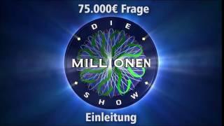 75.000€ Frage - Einleitung | Millionenshow Soundeffect