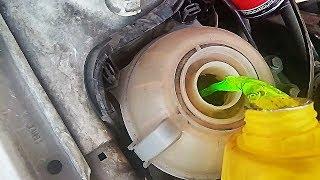 Como purgar o sacarle el aire del sistema de enfriamiento del motor de un Gol 1.6lts! | Luis Her