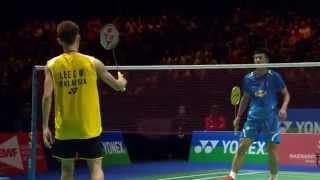 [HD] Final - MS - LEE Chong Wei vs CHEN Long - 2014 Yonex All England Open