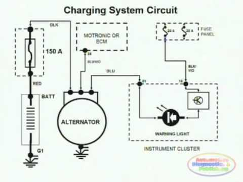 charging system & wiring diagram - youtube kohler engine charging system wiring diagram